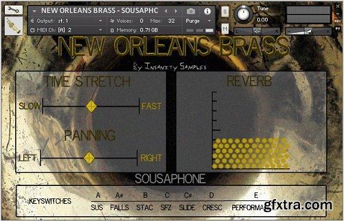 Insanity Samples New Orleans Brass KONTAKT-AWZ