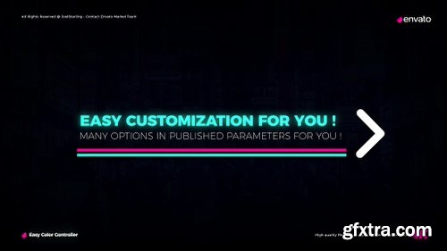 Videohive Neon Lights Titles 4K 22429324