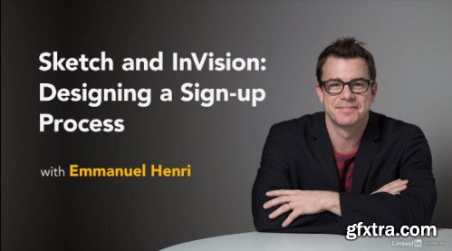 Lynda - Sketch and InVision: Designing a Sign-up Process