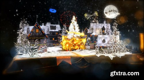 Videohive Christmas Pop Up Book 22956981