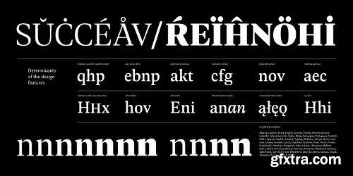 Geller Font Family - 20 Fonts