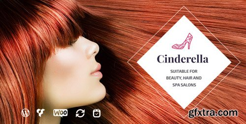 ThemeForest - Cinderella v2.0 - Beauty, Hair and Spa Salon WordPress Theme - 12237661