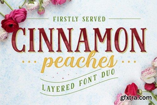 Cinnamon Peach Font Family