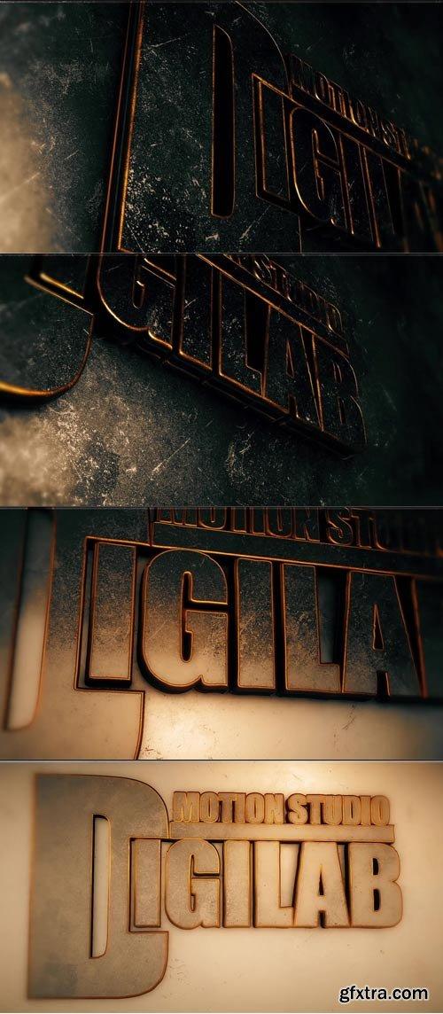 MotionElements - Elegant Metal Gold Logo - 10635646