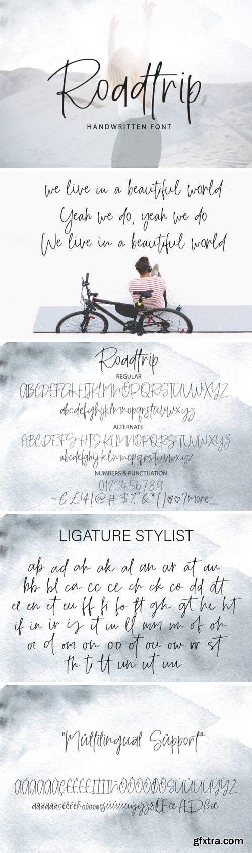 Roadtrip Font