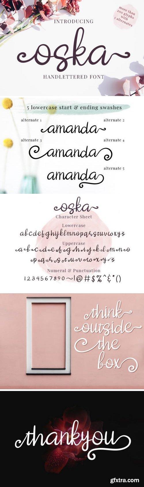 Oska Font
