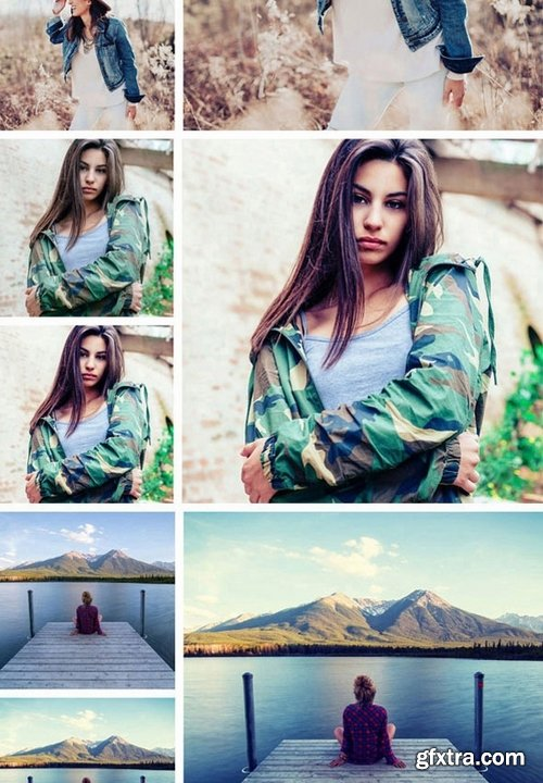 GraphicRiver - Instagram Photoshop Actions 21410058