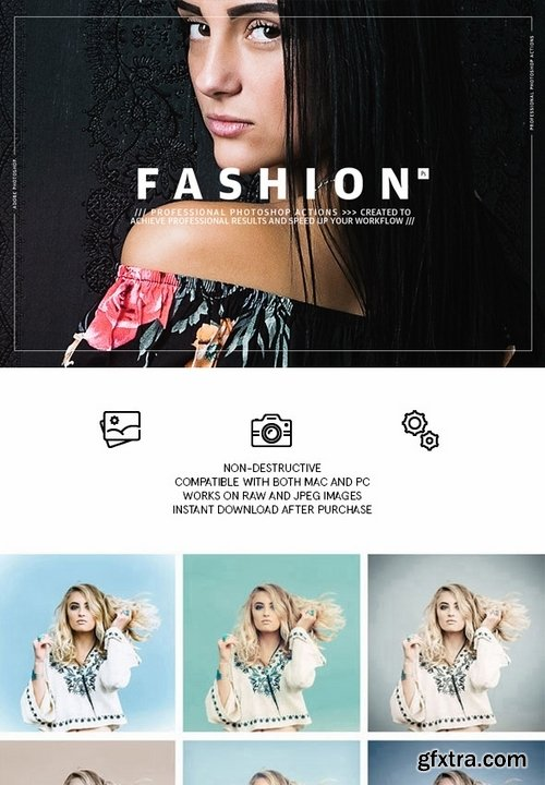 GraphicRiver - Fashion - Photoshop Actions 21409153