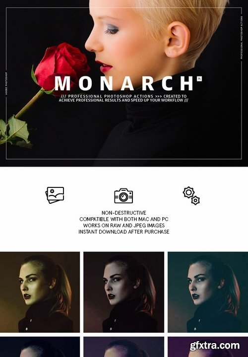 GraphicRiver - Monarch - Photoshop Actions 21413066