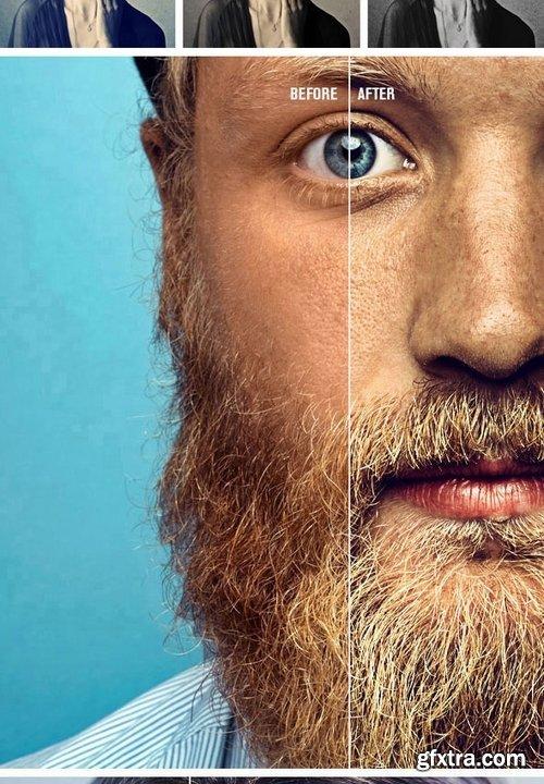 GraphicRiver - Portrait - Photoshop Actions 21409194