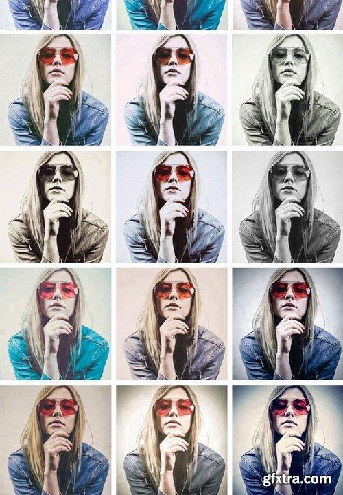 GraphicRiver - Vogue Fashion Photoshop Actions 21409055