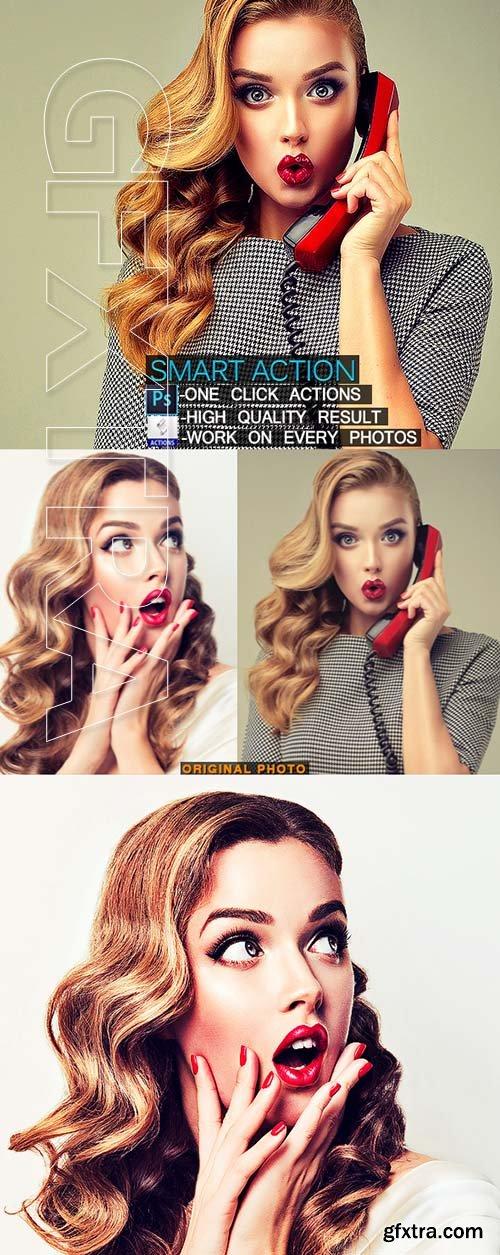 GraphicRiver - Smart Photoshop Action 22889140