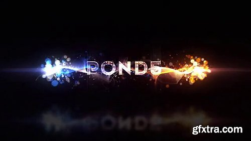 Pond5 - Particles Logo Reveal 098694034