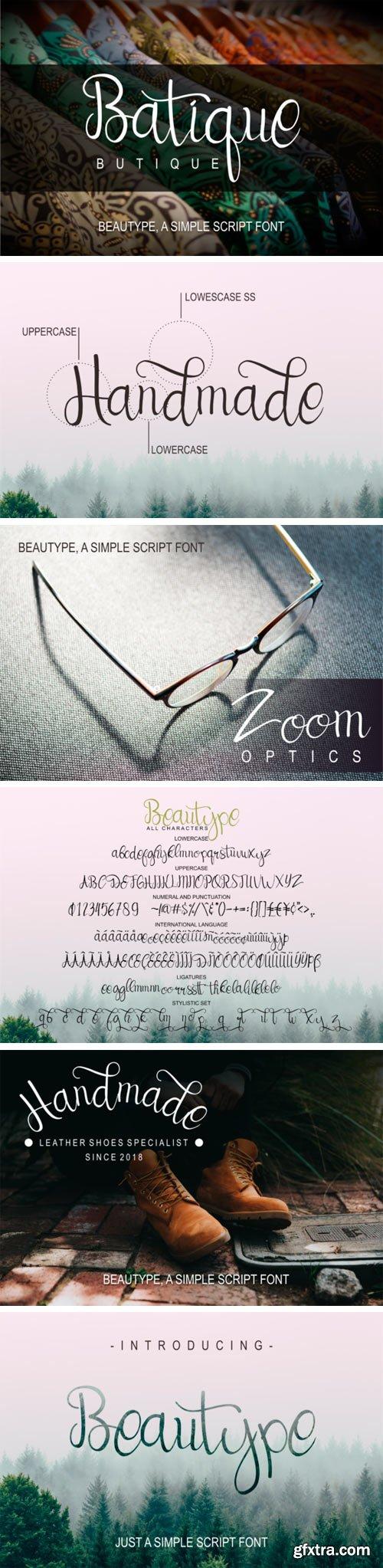Beautype Font