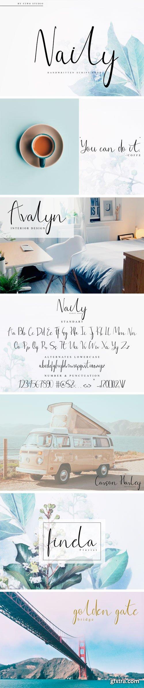 Naily Font