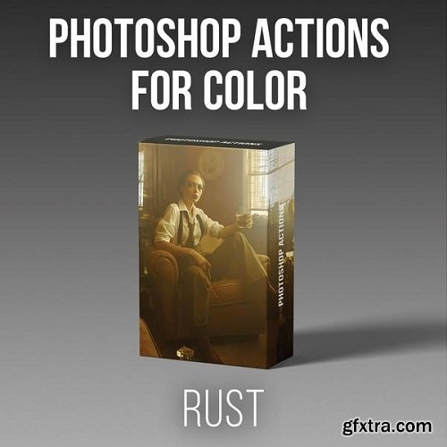 RGGEDU - Photoshop Actions for Color | RUST