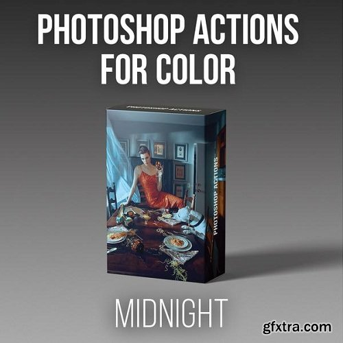 RGGEDU - Photoshop Actions for Color | Midnight Action