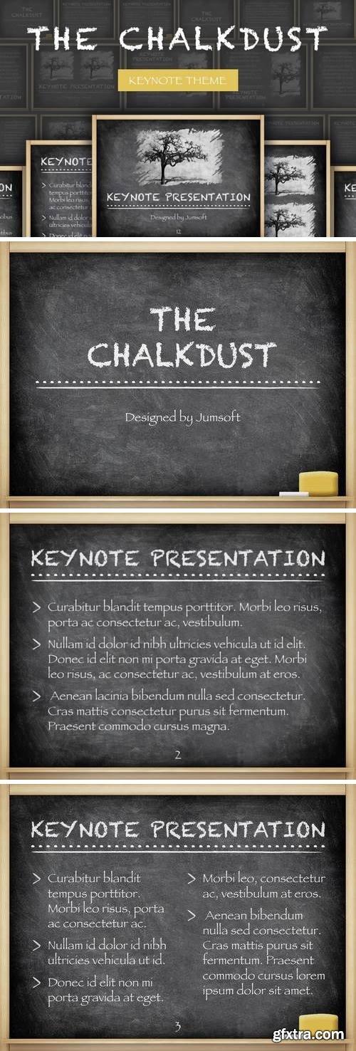 The Chalkdust Keynote Template