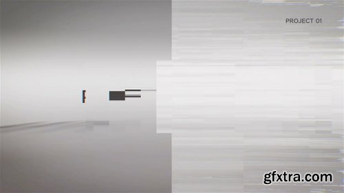 Videohive Glitch Words Logo Reveal | 2 versions 20742442
