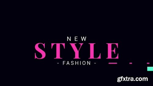 Videohive Fashion Opener 19602259