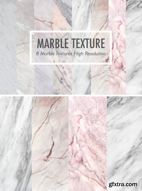 CF - 8 Real marble textures collection 772807