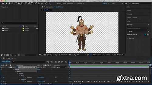 After Effects CC Puppet Tool (2018)