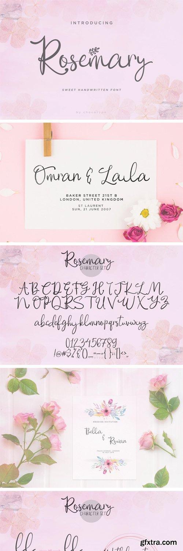 Fontbundles - Rosemary 173645