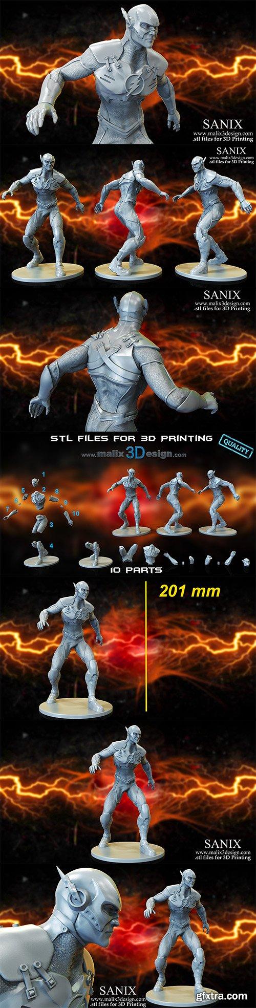 Cubebrush - FLASH - 3D Printable Model