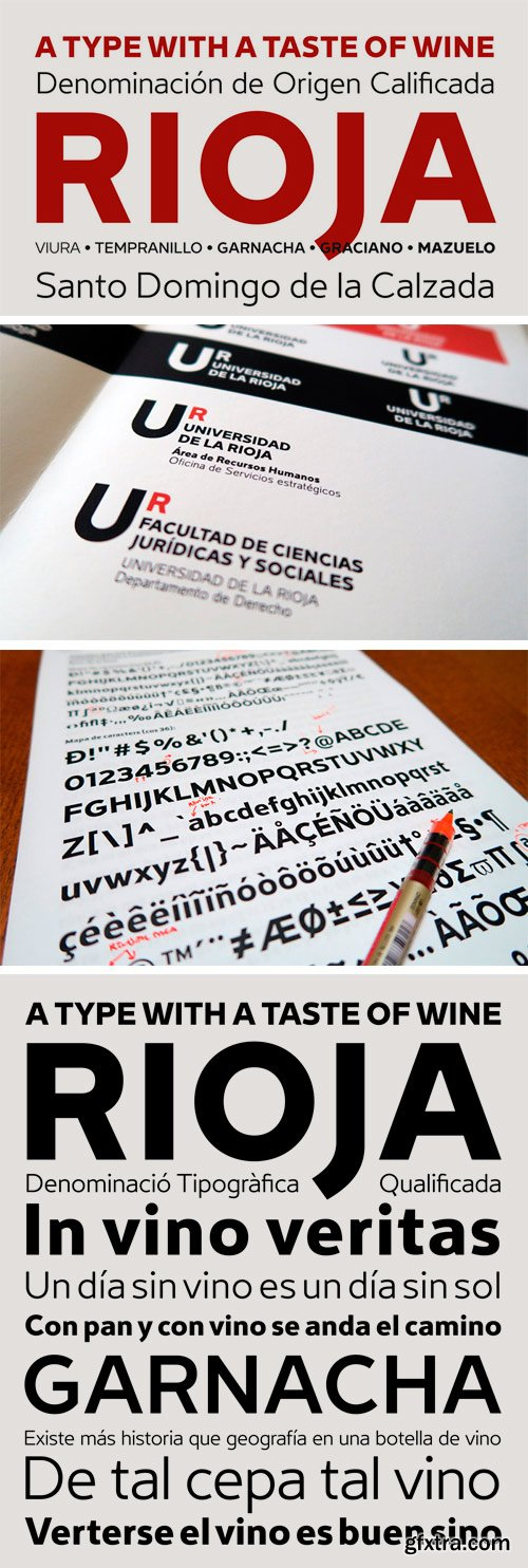 Rioja Font Family