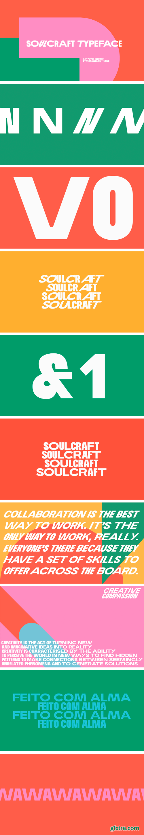 Soulcraft Typeface