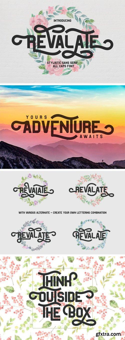 CM - Revalate - Stylistic Sans Serif 3060429
