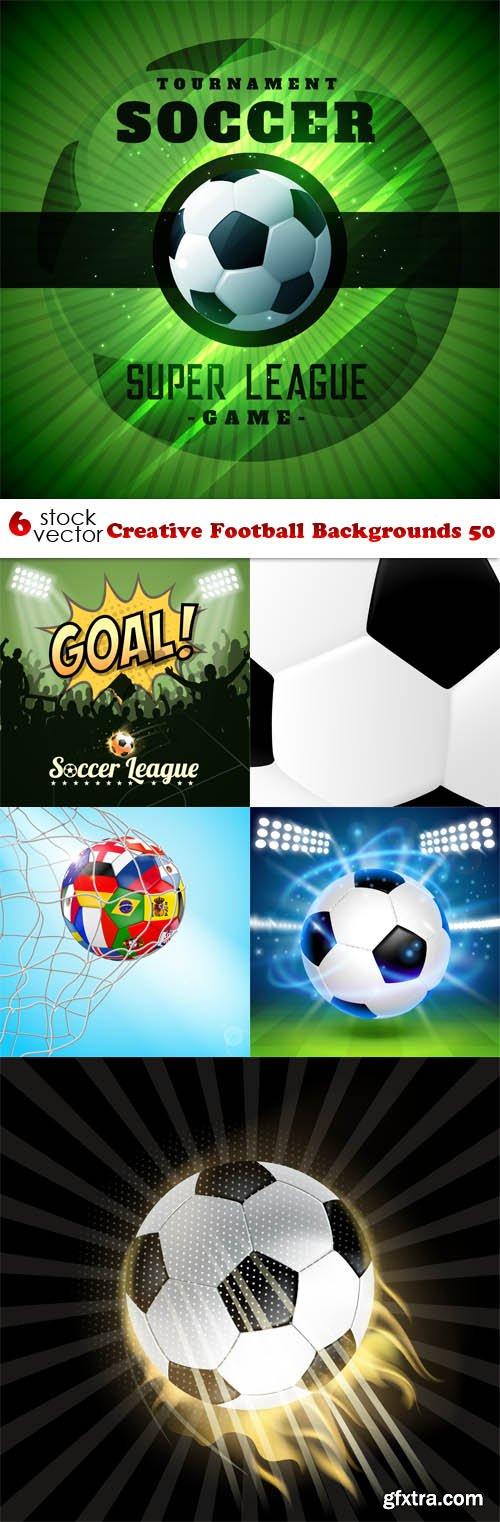 Vectors - Creative Football Backgrounds 50