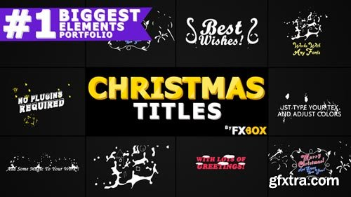 Videohive - Christmas Titles And Transitions - 22982173
