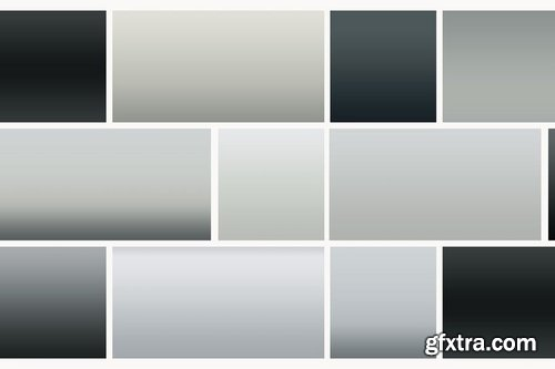 126 Black and White Gradients