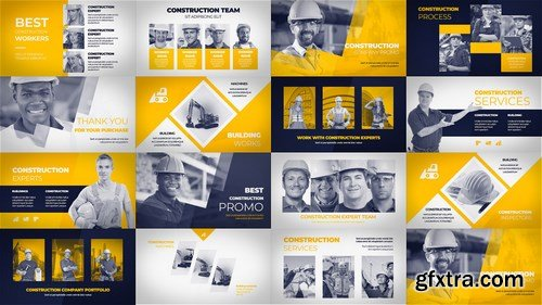 MA - Construction Company Promo After Effects Templates 147886