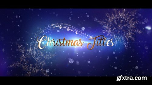 MA - Christmas Titles After Effects Templates 148050