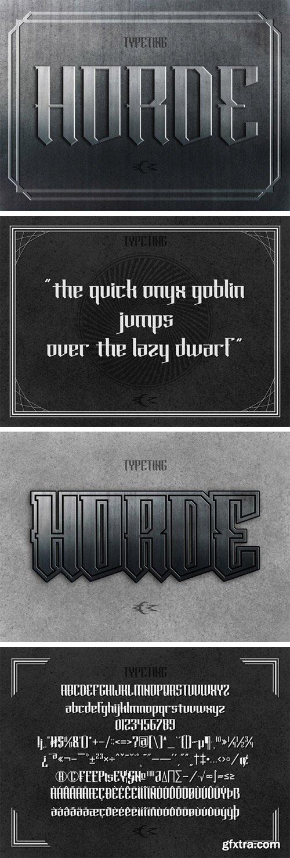 Horde Font