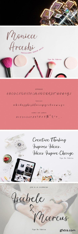 Ambre Script Font