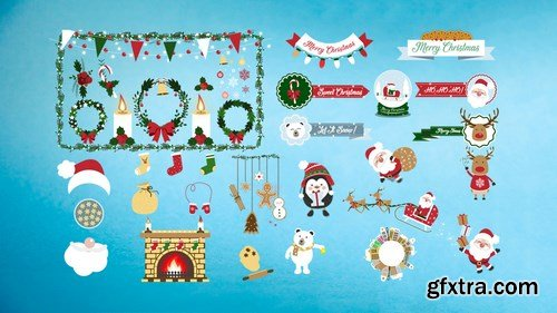 MA - Christmas Big Pack After Effects Templates 147515