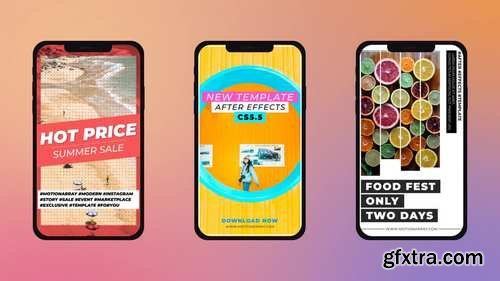 MA - Modern Instagram Stories After Effects Templates 147875