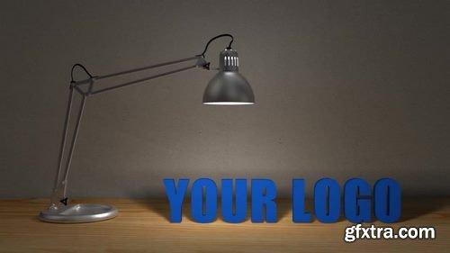 MA -  Desktop Lamp Logo Reveal After Effects Templates 148030