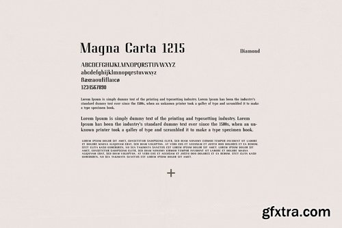 CM - Diamond Luxury Serif 3228135