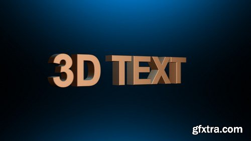 MA - Spinning Text After Effects Templates 148210