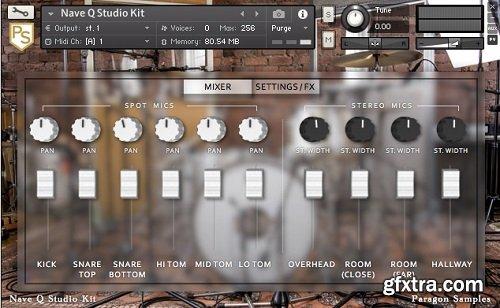 Paragon Samples Nave Q Studio Kit WAV GOG TCI KONTAKT-SYNTHiC4TE