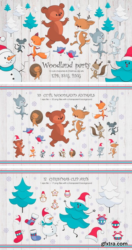Woodland Party Bundle