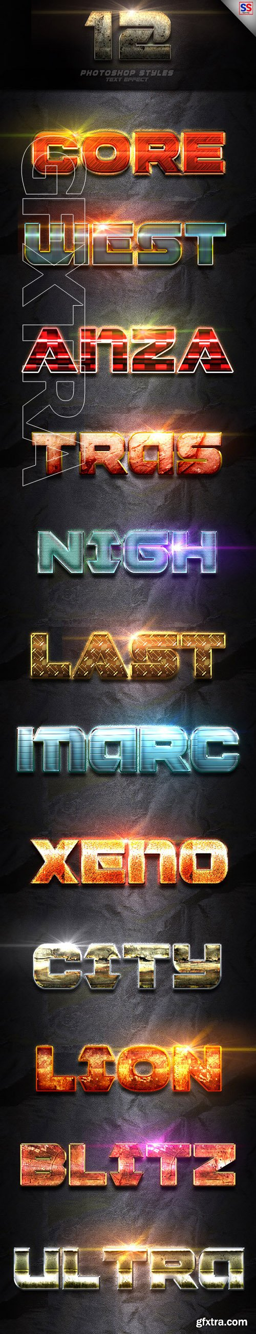 GraphicRiver - 12 Photoshop Text Effect Vol 1 22858121