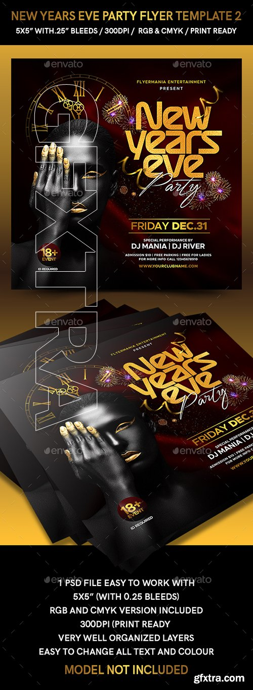 GraphicRiver - New Years Eve Party Flyer Template 2 22895330