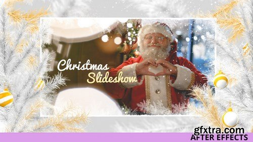 MA - Gold And White Christmas Slideshow After Effects Templates 148147