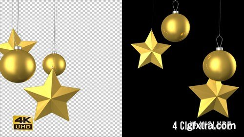 MA -  Christmas Ornaments Vol. 2 Stock Motion Graphics 148029