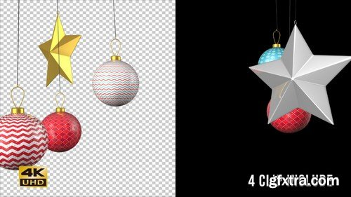 MA - Christmas Ornaments Pack Vol. 1 Stock Motion Graphics 147840